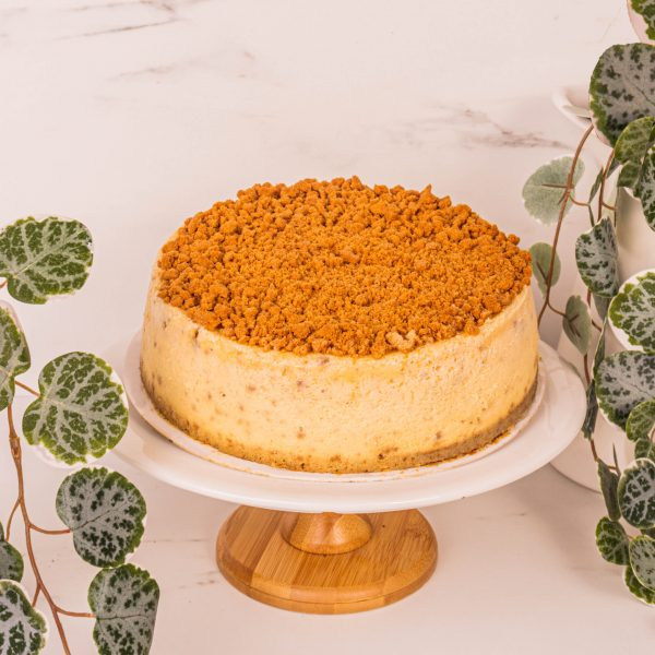 biscoff cheesecake by mori cakes