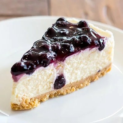 blueberry cheesecake by cake delivery singapore