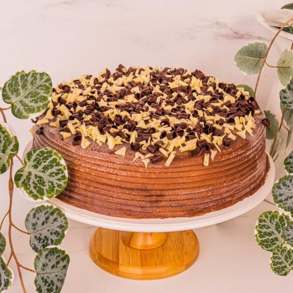 chocolate fudge cake by mori cakes