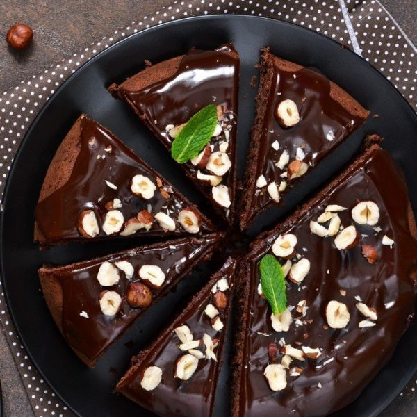 dark chocolate ganache cake by cake delivery singapore