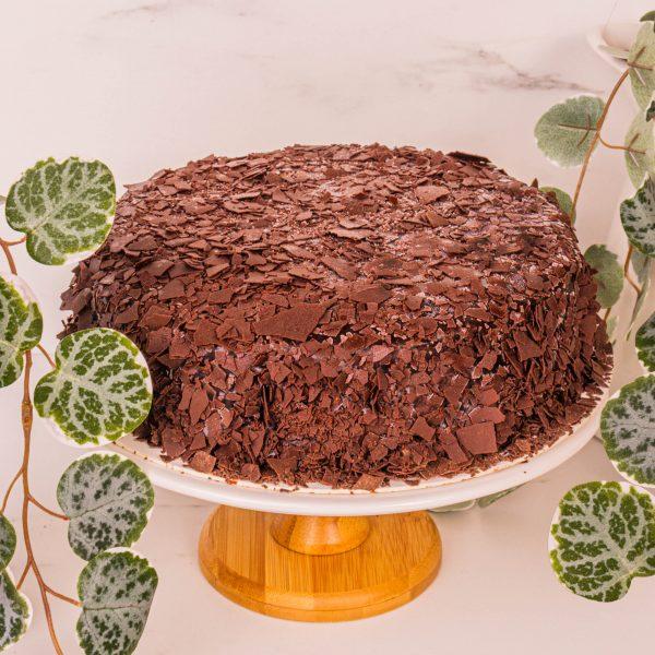 mao shan wang chocolate fudge cake by mori cakes