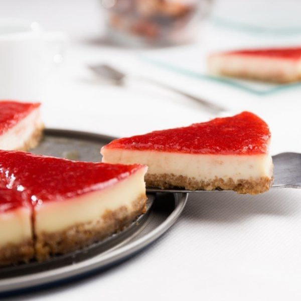 strawberry cheesecake by cake delivery singapore