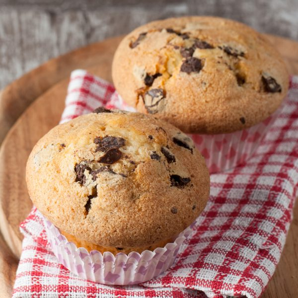 Chocolate Chip Blueberry Muffin