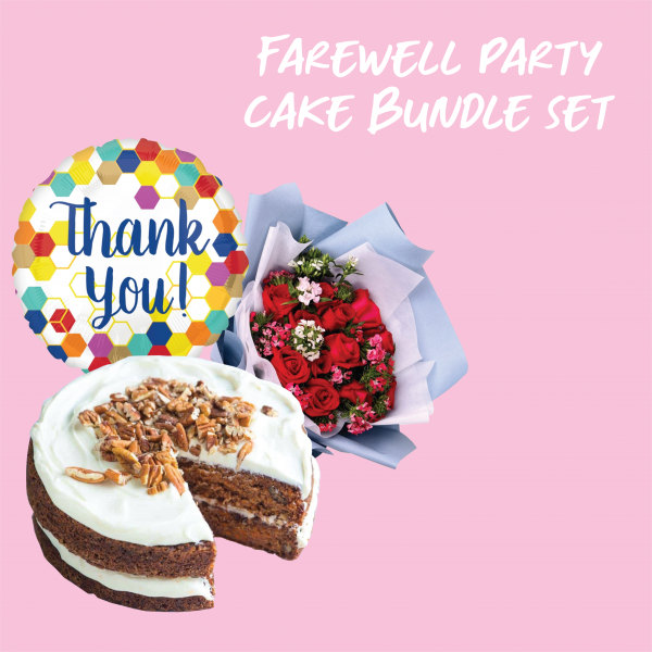 Farewell Party Cake Bundle Set