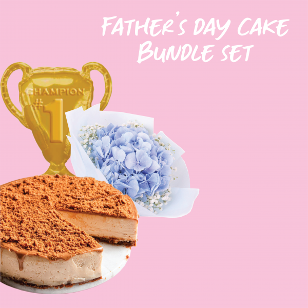 Father's Day Cake Bundle Set