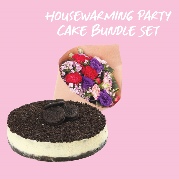 Housewarming Party Cake Bundle Set