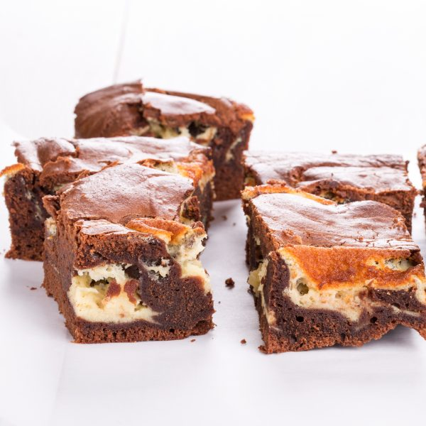 Marbled Cheese Brownie