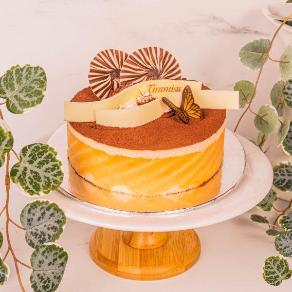 classic tiramisu cake by mori cakes