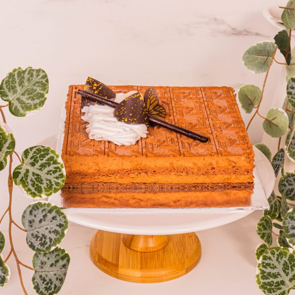 crunchy base hazelnut royale by mori cakes