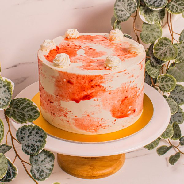Strawberries and Cream by Cakedelivery.sg