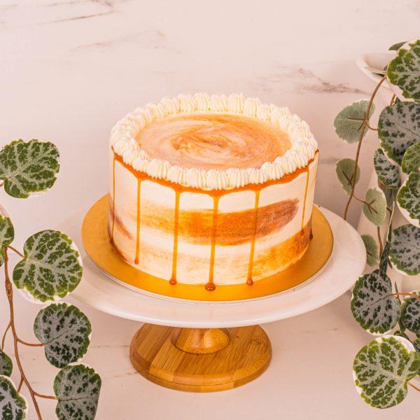 Caramel Chocolate Cake by mori cakes