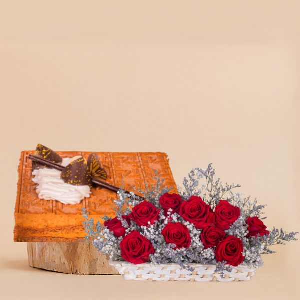 Unconditional Love Mothers Day Bundle by mori cake delivery