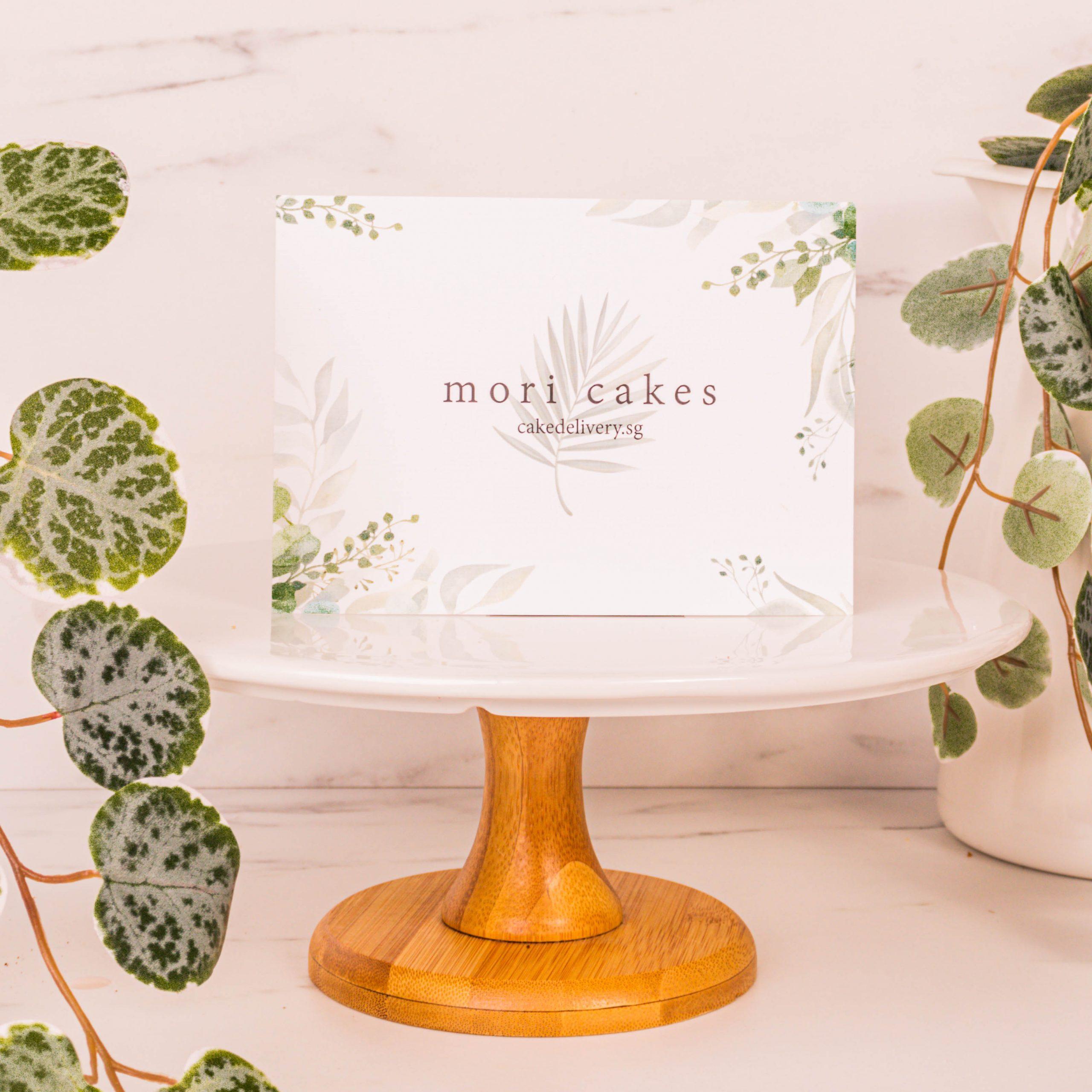 Mori Cake Delivery Card