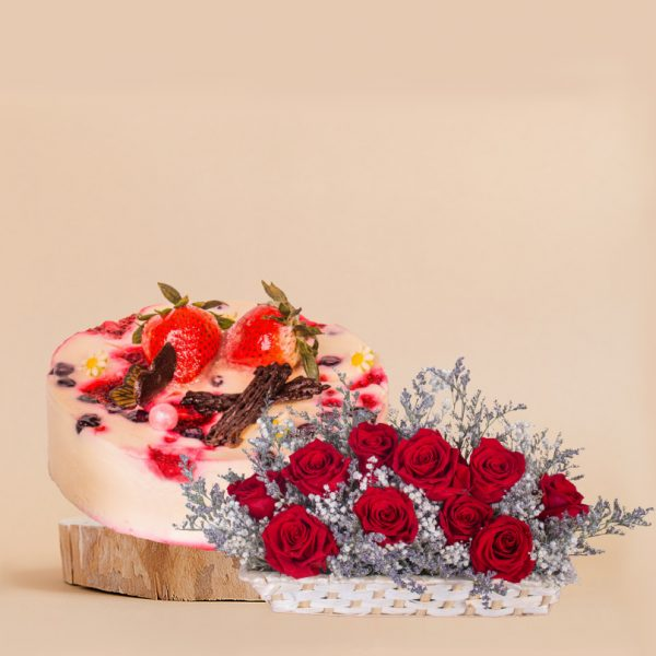 Unconditional Love Mother's Day Bundle by mori cake delivery