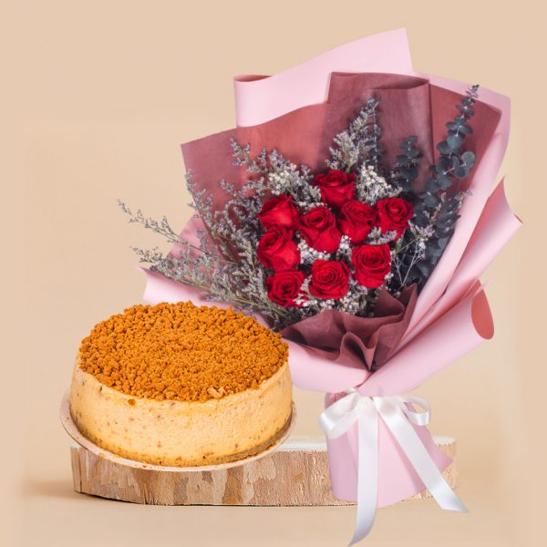Guardian Angel Mother's Day Bundle by mori cake delivery