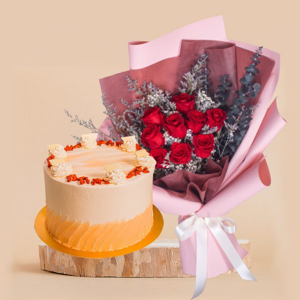 Wonder Woman Mother's Day Bundle by mori cake delivery